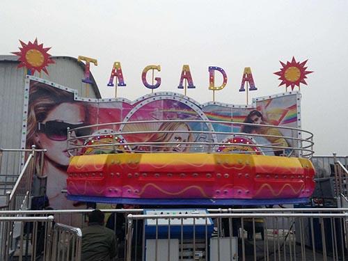BN-DT40 Disco Tagada Juego Mecanico en venta simpre, Bienvenida a Beston.