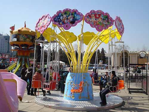 BNSR12 sillas voladoras parque atracciones en venta