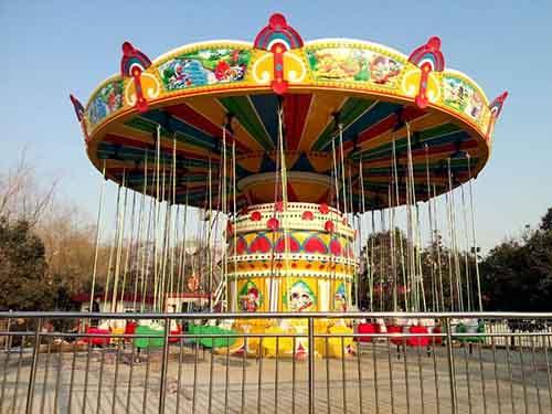 BNSR32 sillas voladoras parque atracciones