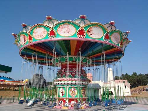 BNSR24 sillas voladoras parque atracciones en venta