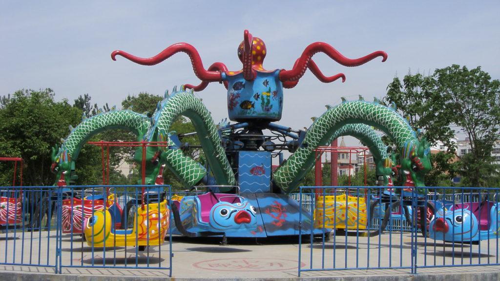 Rotatorios del Pulpo en Venta, esta feria muy bonita y muy bueno para los niños.